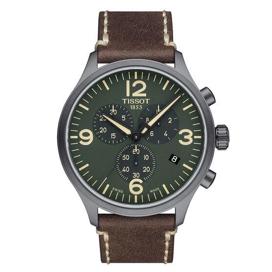 Tissot Chrono T-Sport Green Dial Quartz Watch