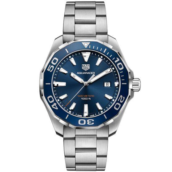 TAG Heuer Aquaracer Quartz Mens Blue Steel Watch