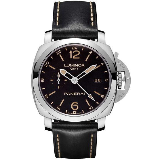 PANERAI Luminor 1950 GMT 24H Automatic Acciaio Watch