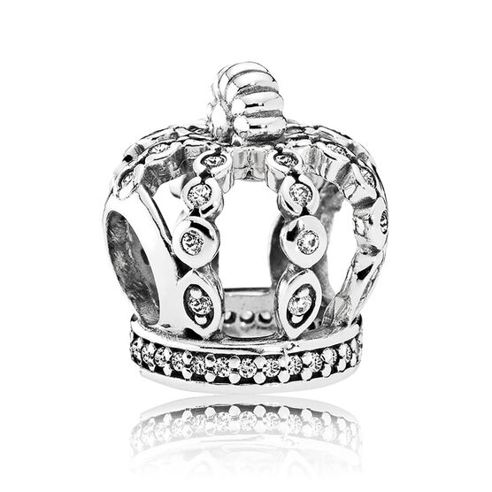 Pandora Fairytale Crown CZ Charm