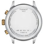 Tissot Chrono XL Classic Gold PVD Green Dial Quartz Watch, 45mm
