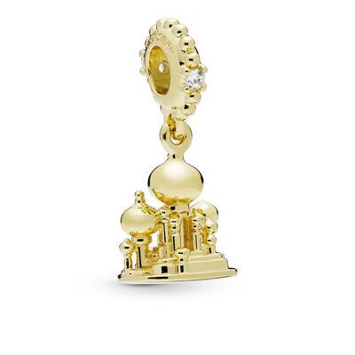 PANDORA Disney Pandora Shine™ Agrabah Castle CZ Dangle Charm