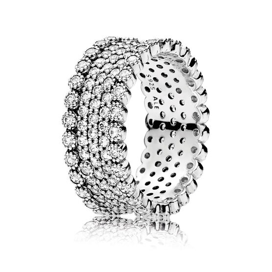Pandora CZ Lavish Sparkle Ring