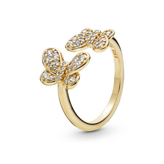 Pandora Shine™ Dazzling Butterflies CZ Ring