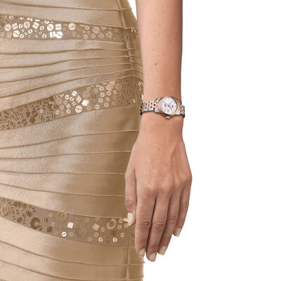 Tissot Le Locle Automatic Rose PVD Diamond Watch, 29mm