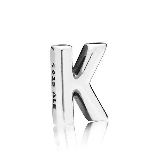 PANDORA Petite Locket Charm, Letter K