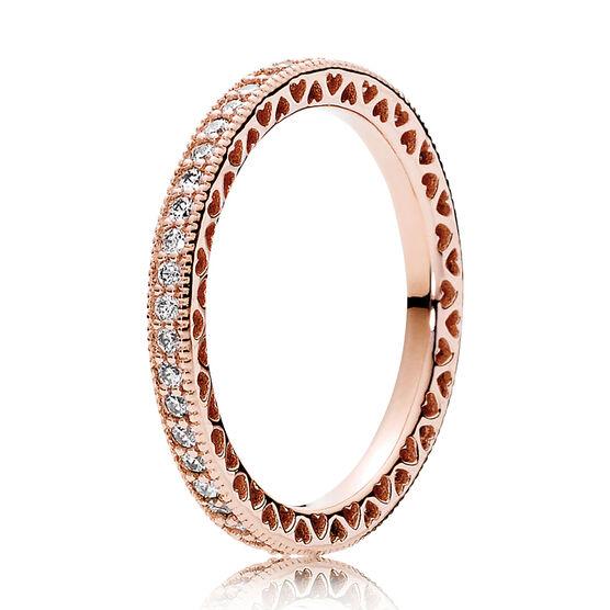 Pandora Rose™ Hearts of Pandora CZ Ring
