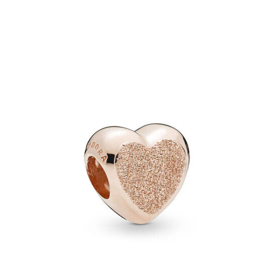Pandora Rose™ Matte Brilliance Heart Charm