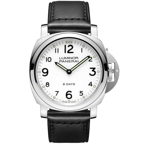 PANERAI Luminor Base Acciaio Watch