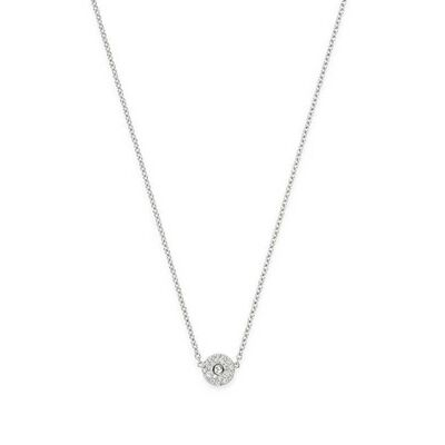 Roberto Coin Pois Moi Luna Diamond Necklace 18K