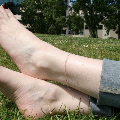 Infinity Anklet 14K