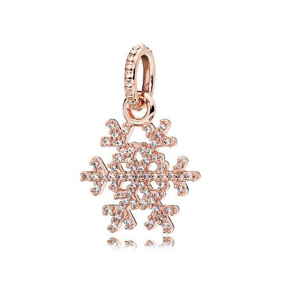 PANDORA Rose™ Sparkling Snowflake CZ Charm