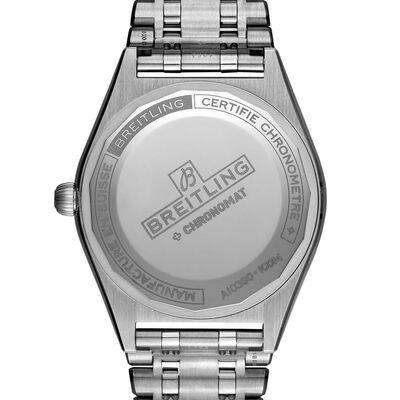 Breitling Chronomat Automatic 36 Blue Steel Watch, 36mm