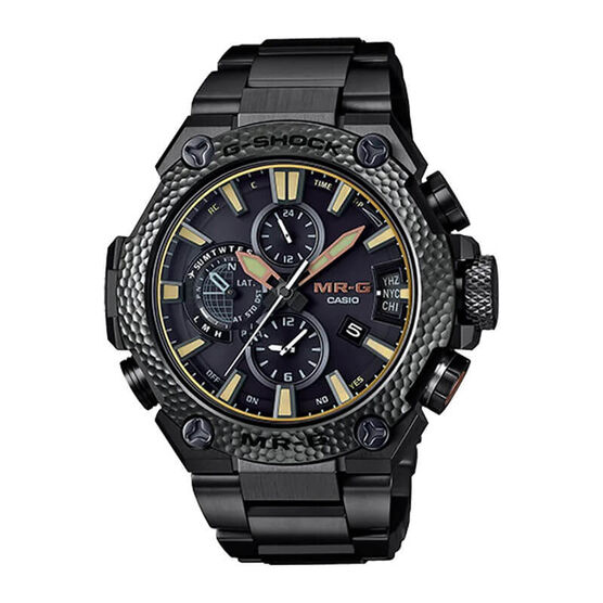 G-Shock MR-G Tsuiki Metal Hammered Connected Solar Watch, 54.7mm