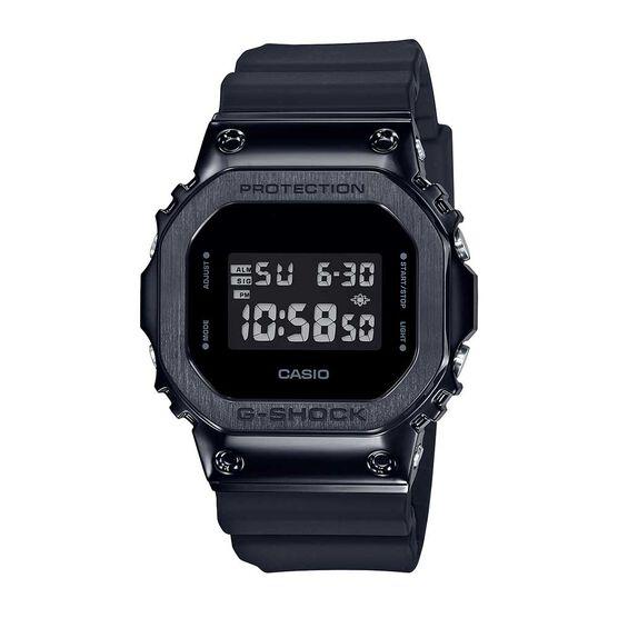 G-Shock Black Stainless Steel Case Digital Watch