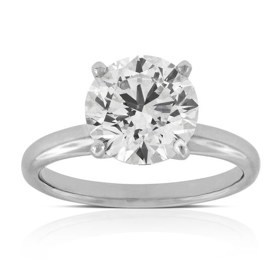 Ikuma Canadian Diamond Solitaire 14K, 3.01 ct.