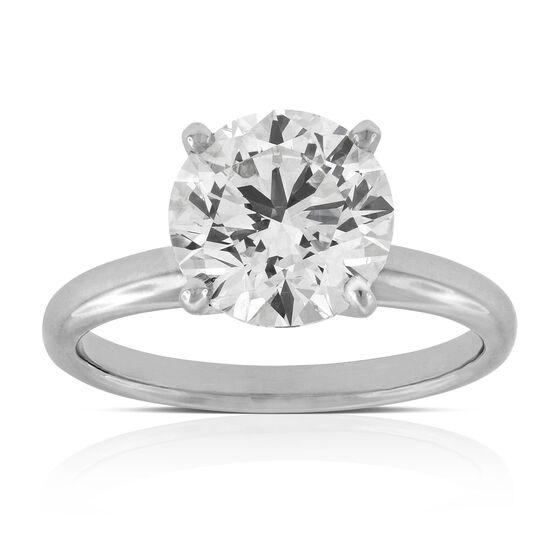 Ikuma Canadian Diamond Solitaire 14K, 3.02 ct.