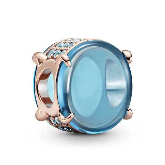 Pandora Rose™ Blue Oval Cabochon Crystal Charm
