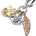 Pandora Spirituality Enamel & CZ Dangle Charm