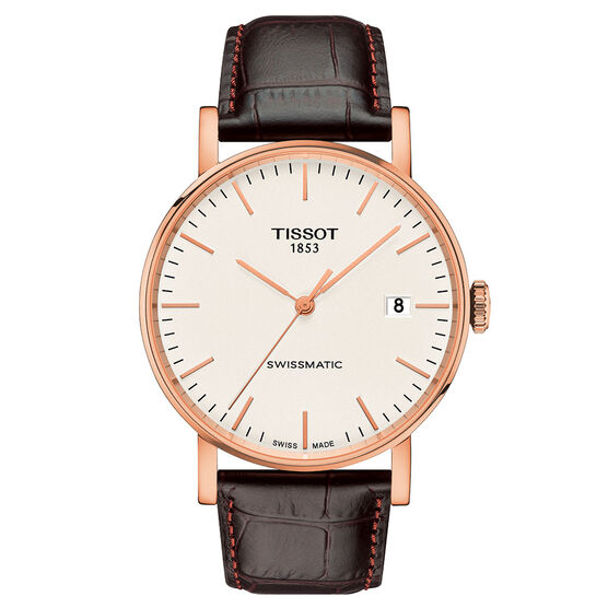 Tissot Everytime Swissmatic T-Classic Rose Gold PVD Auto Watch, 40mm
