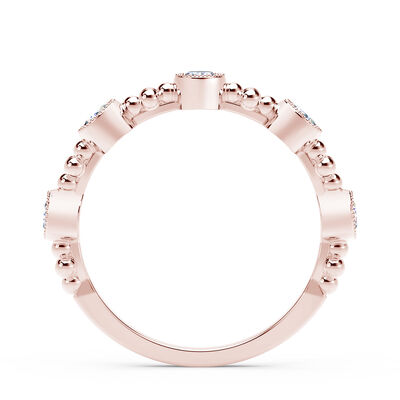 Rose Gold The Forevermark Tribute™ Collection Delicate Diamond Ring, 18K