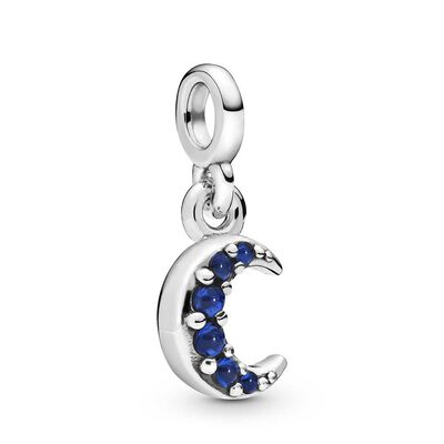 Pandora Me My Moon Crystal Dangle Charm