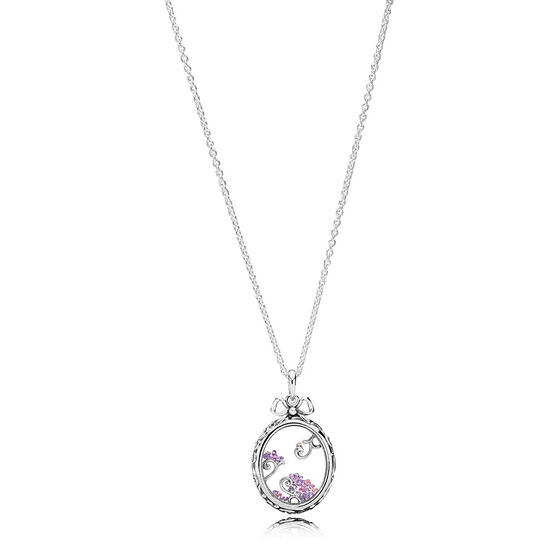 Pandora Locket of Dazzle Pendant, Multi- Color CZ
