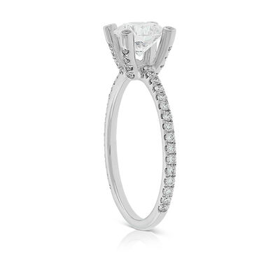 Signature Forevermark Diamond Prong Ring 18K