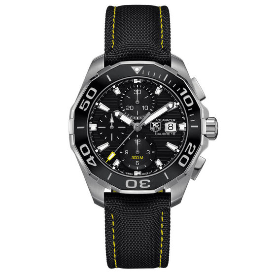 TAG Heuer Aquaracer Calibre 16 Chronograph Watch, 43mm