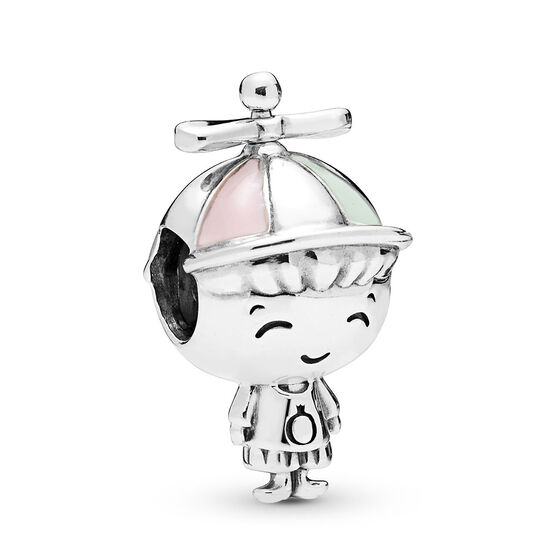 Pandora Propeller Hat Boy Enamel Charm