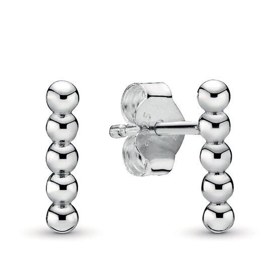 Pandora Purely Pandora Row of Beads Stud Earrings