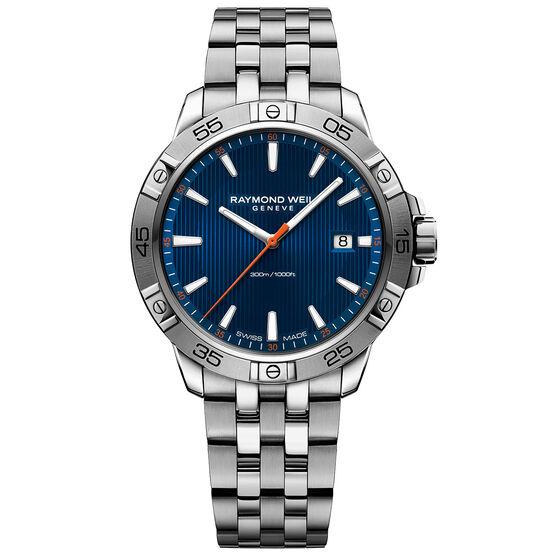 Raymond Weil Blue Dial Tango Watch