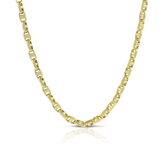 Toscano Anchor Necklace 14K, 24""