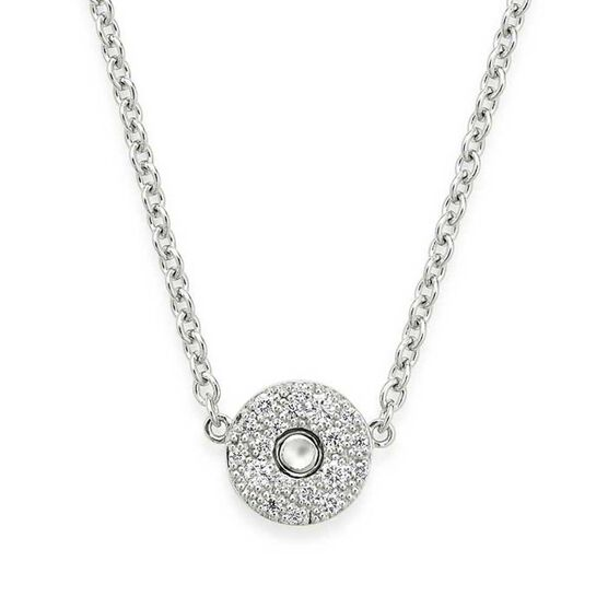 Roberto Coin Pois Moi Luna Diamond Necklace 18K