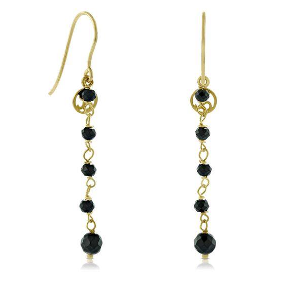 Lisa Bridge Spinel Earrings 14K