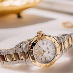 TAG Heuer Aquaracer Quartz Ladies Mother of Pearl Steel & Yellow Gold Plated Watch