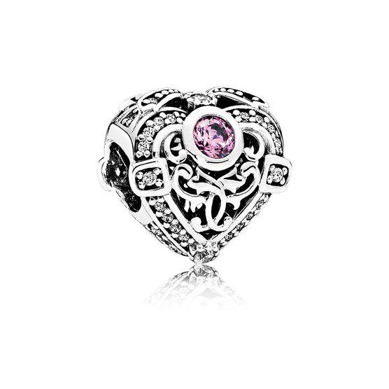 PANDORA Opulent Heart CZ Charm