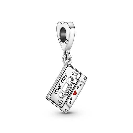 Pandora Vintage Cassette Enamel Dangle Charm