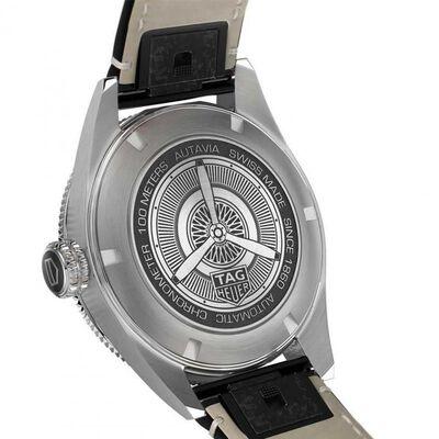 TAG Heuer Autavia Calibre 5 COSC Mens Black Leather Watch