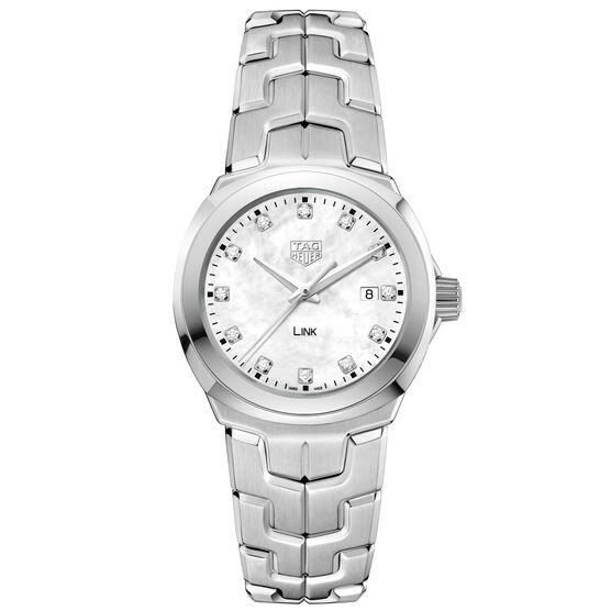 TAG Heuer  Link Diamond Dial Quartz Watch