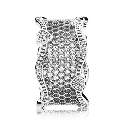 Pandora Lace of Love CZ Ring