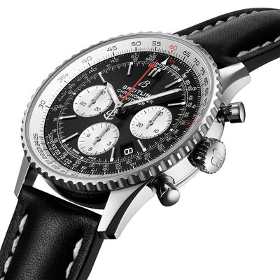 Breitling Navitimer B01 Chronograph 43 Black Dial Watch