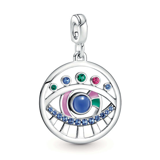 Pandora ME The Eye Crystal & Enamel Medallion Charm