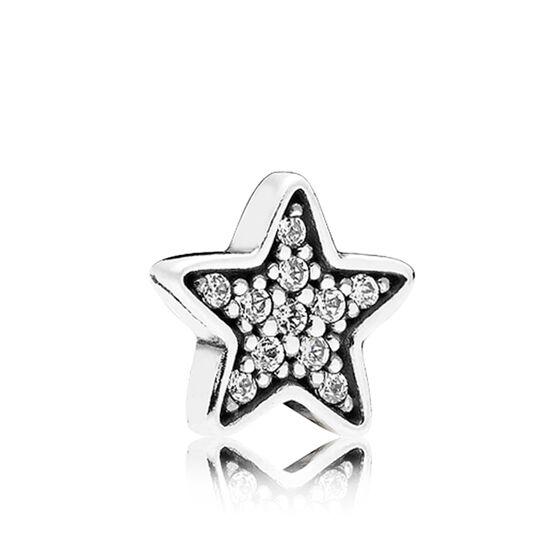 PANDORA Petite Element  CZ Star Charm