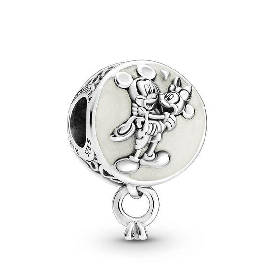 Pandora Disney Mickey Mouse & Minnie Mouse Eternal Love Enamel & CZ Charm