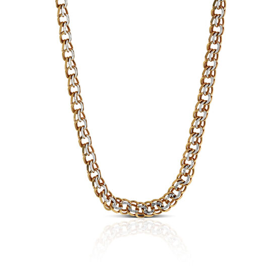 Rose Gold Curb Chain 14K