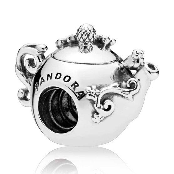 PANDORA Enchanted Tea Pot CZ Charm
