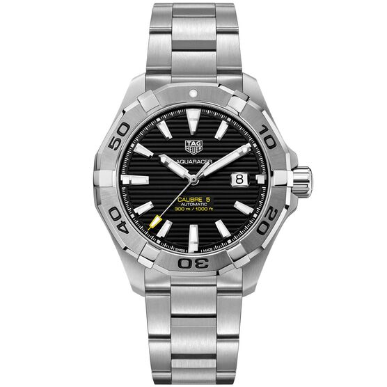 TAG Heuer Aquaracer Caliber 5 Automatic Watch 43mm