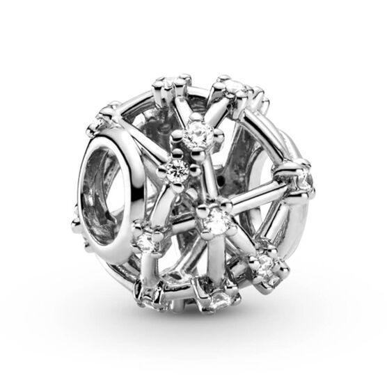Pandora Openwork Star Constellations CZ Charm