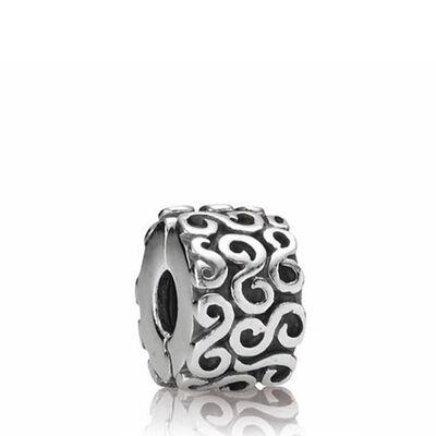 Pandora Swirl Clip Charm